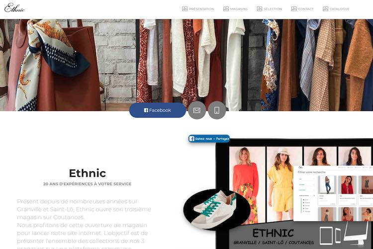 Ethnic | Site web : https://www.ethnic-boutique.fr